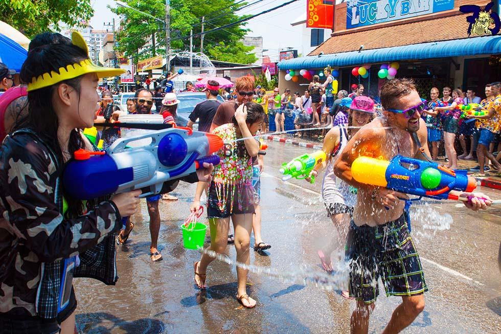 Songkran. Foto: Ben Reeves