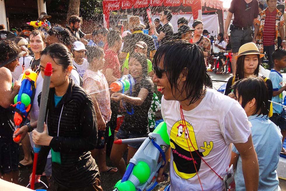Songkran. Foto: John Shedrick