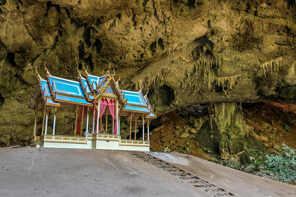 Tempel Phraya Nakhon Cave Hua Hin