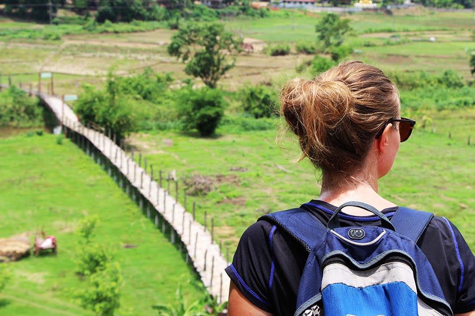 Mae Hong Son Bamboo brug