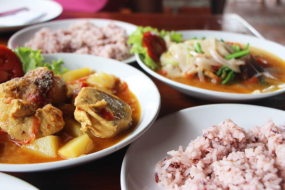 Salween River Restaurant Mae Hong Son