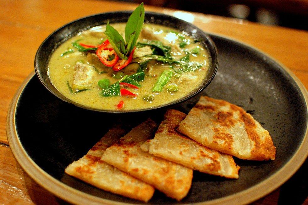 Thaise gerechten - Green Curry