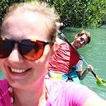 Kajakken door het mangrovebos van Tha Lane Bay
