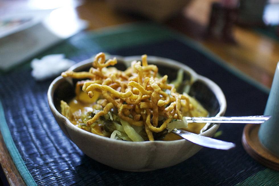 Thaise gerechten - Khao Soi