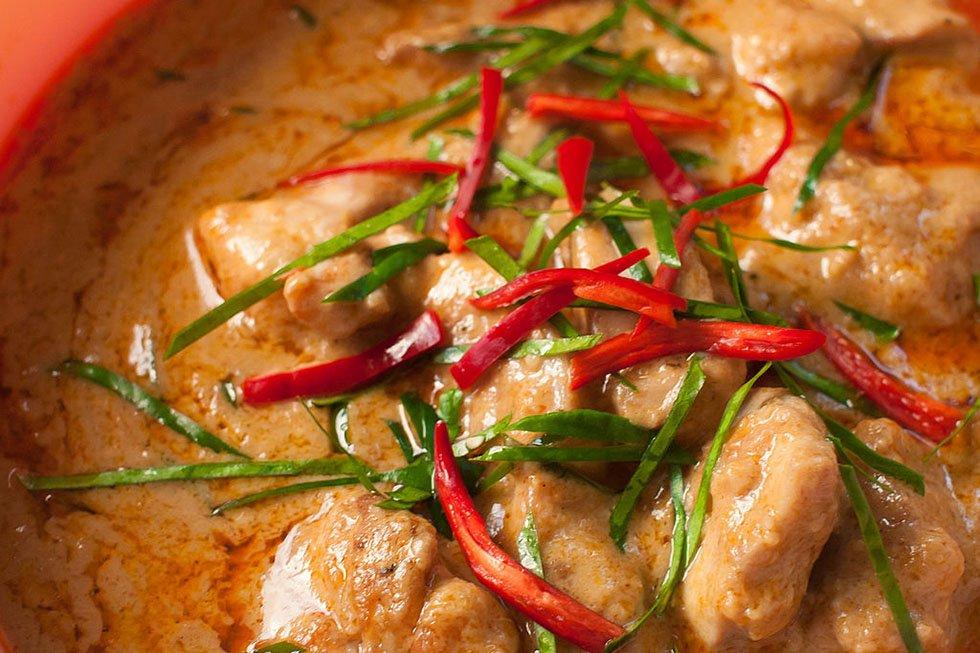 Thaise gerechten - Panang Curry