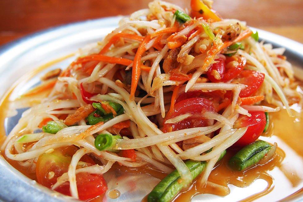 Thaise gerechten - Som Tam