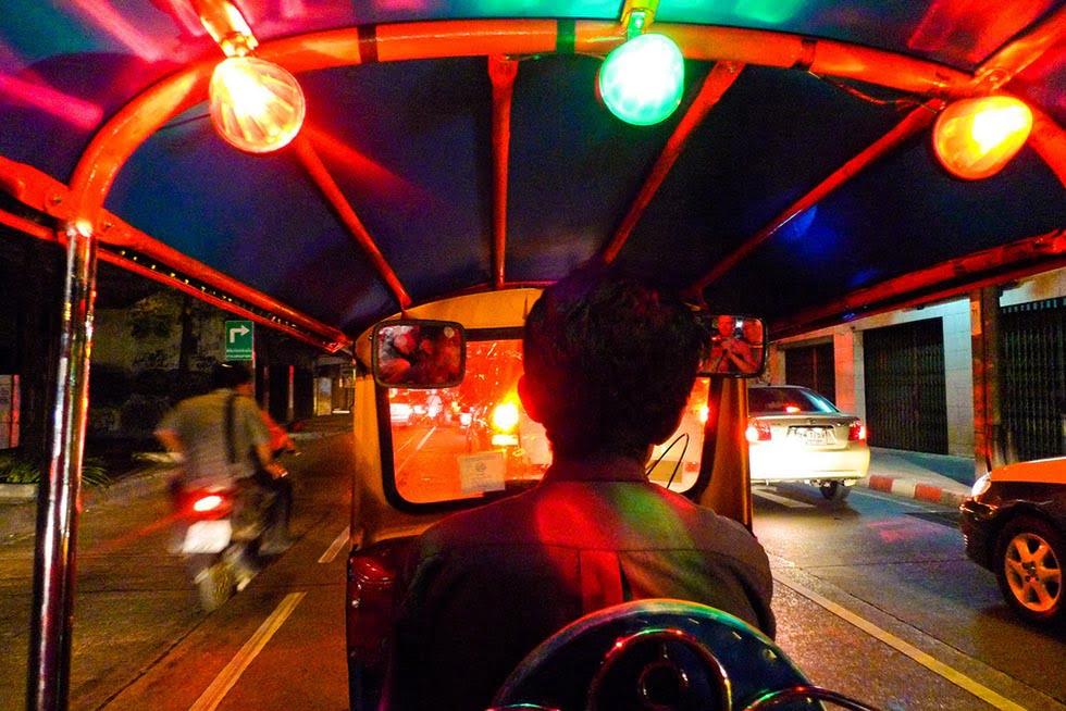 Tuktuk Bangkok - Bezienswaardigheden Bangkok