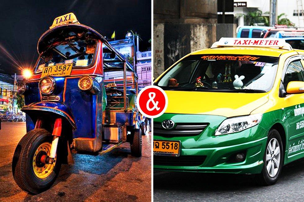 taxi bangkok tuktuk bangkok