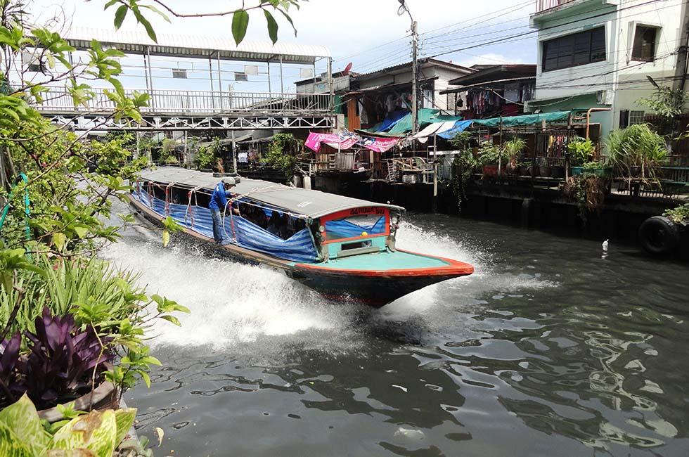 FIetsen Bangkok Klongs