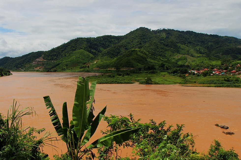 Mekong rivier Noord Thailand