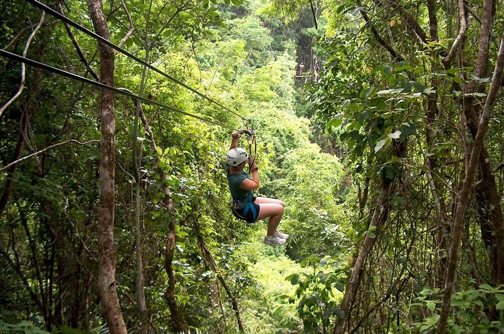 Thailand Ziplinen