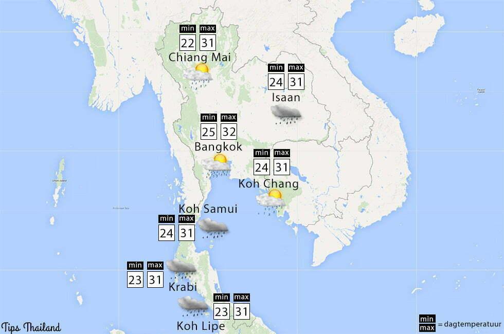 weer thailand oktober tips