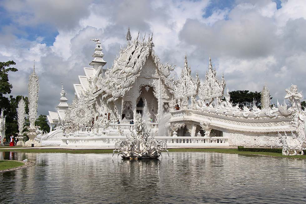 Witte Tempel Chiang Rai Thailand