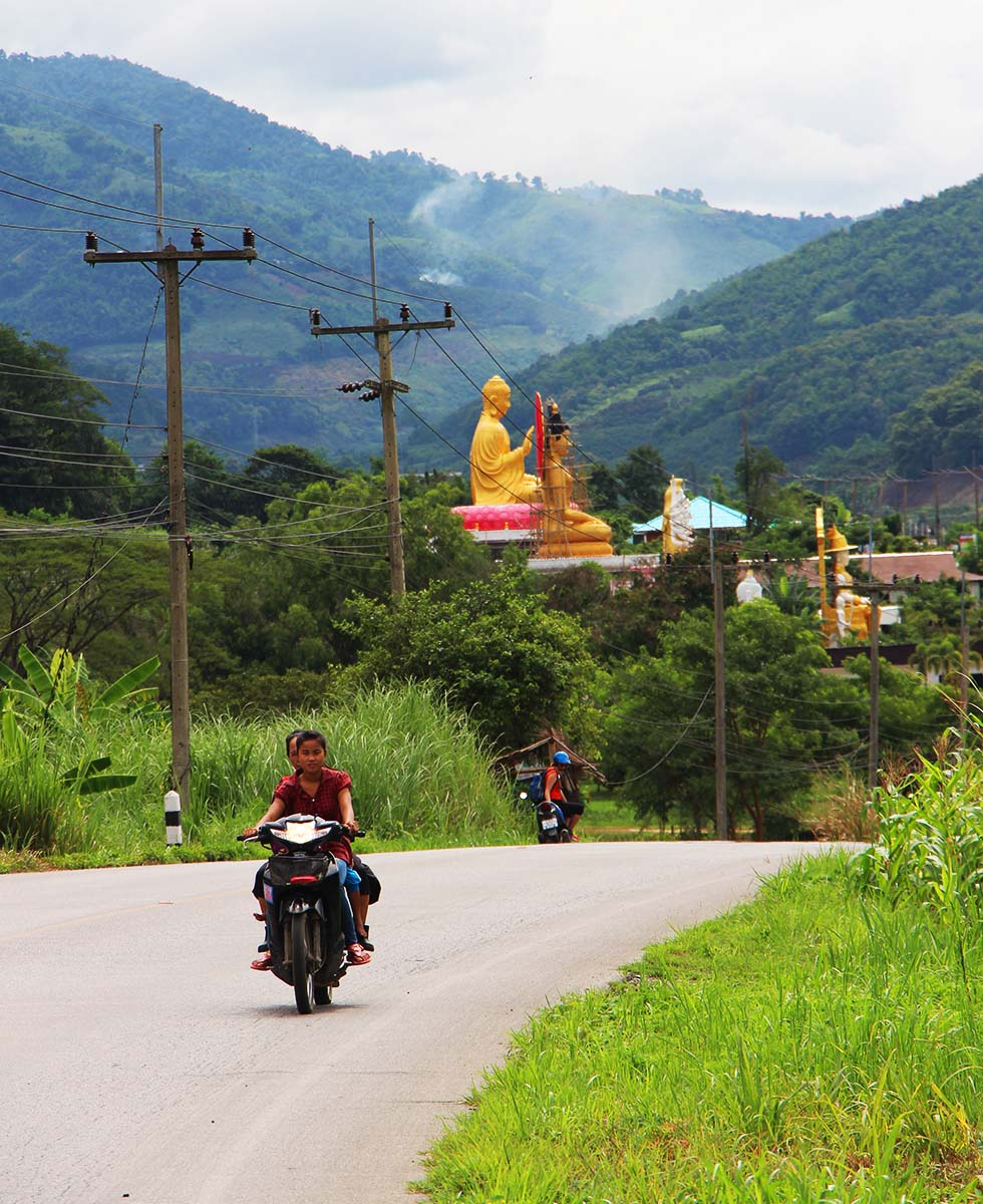 Scootertrip Thaton