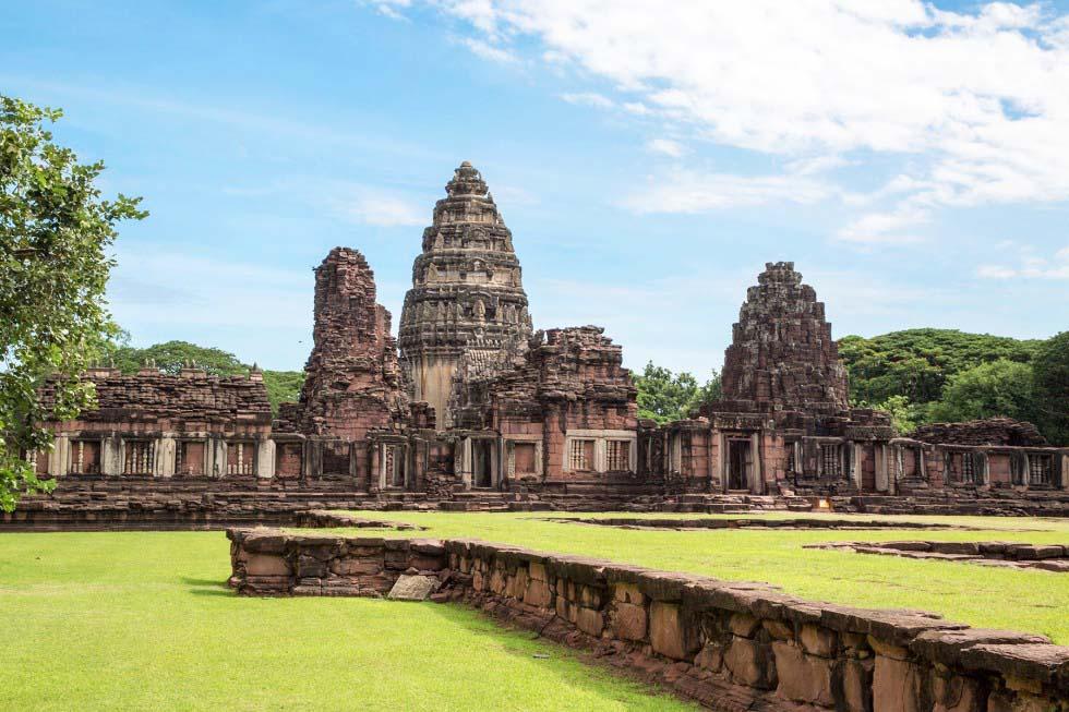 Phimai overzicht tempels