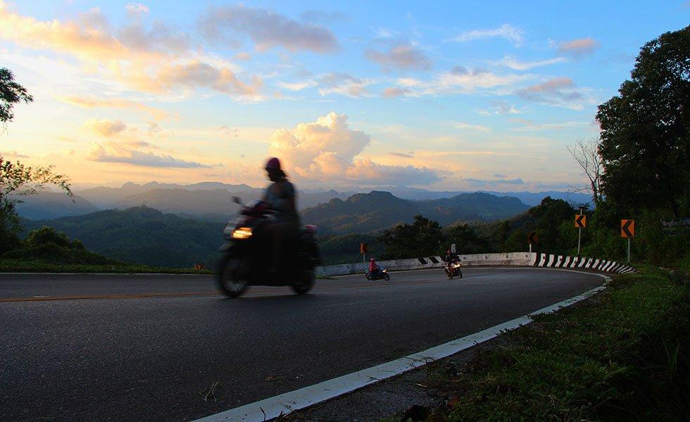 Eigen vervoer Thailand