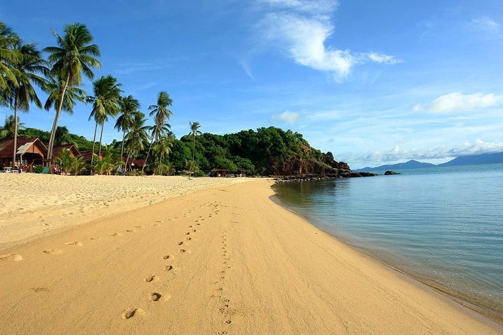 Mae Nam Beach Einde