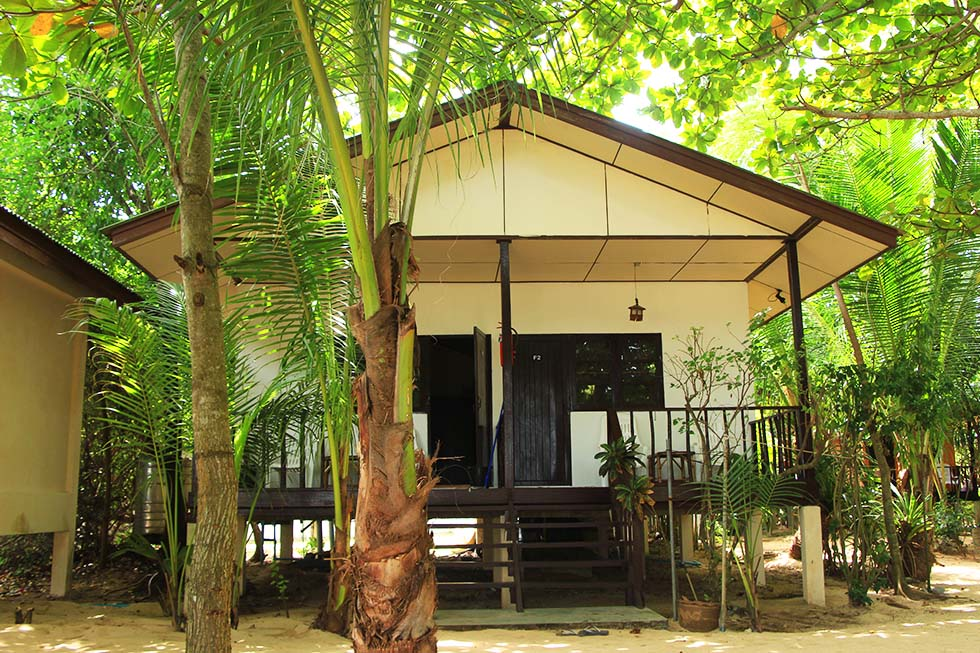 Moonhut Bungalows op Koh Samui