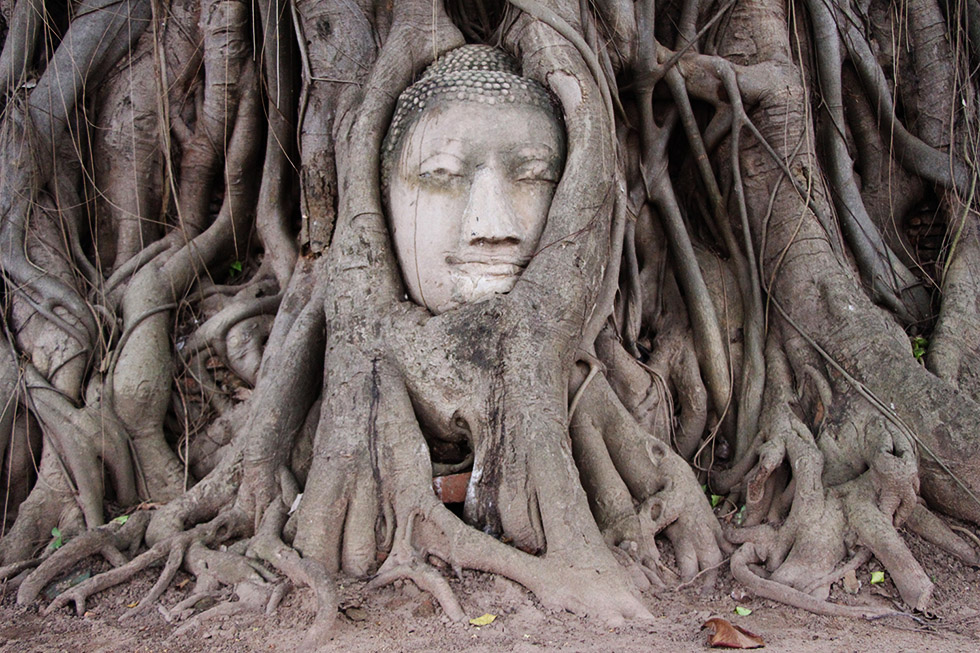 Wat Phra Mahathat - Thailand met kinderen