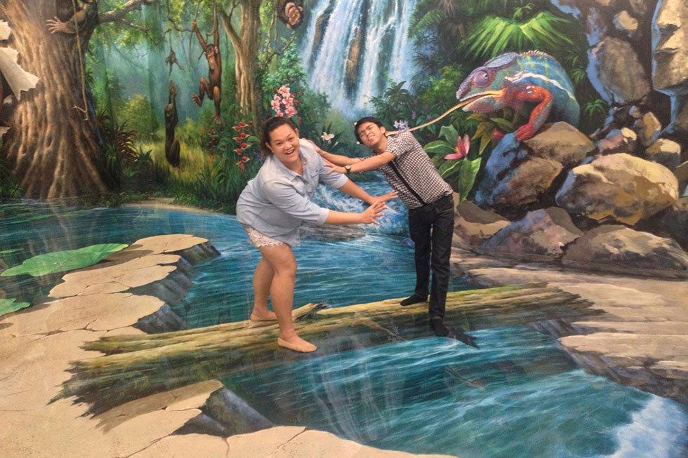 Art in Paradise in Bangkok - Bezienswaardigheden Bangkok