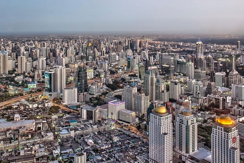 Baiyoke Sky Tower - Bezienswaardigheden Bangkok