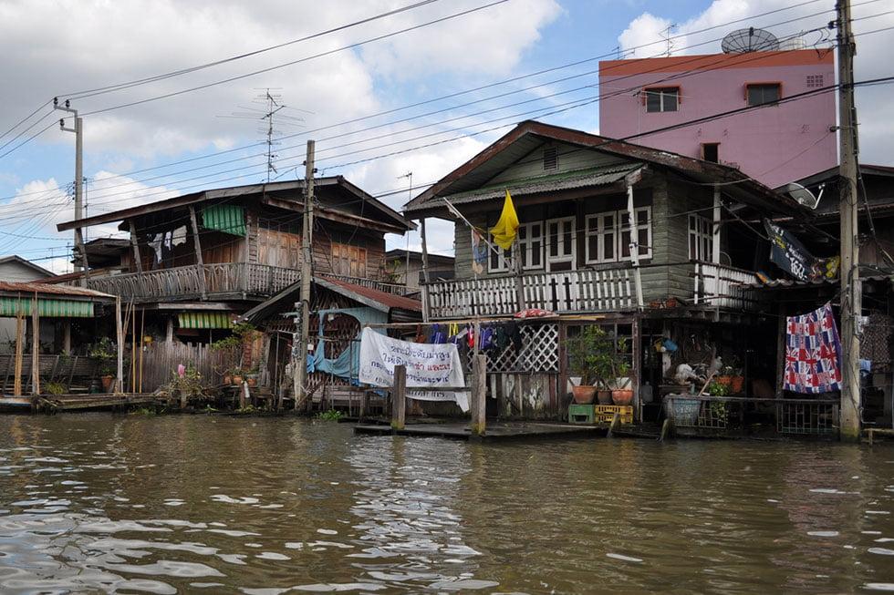 Klongs van Thonburi - Bezienswaardigheden Bangkok