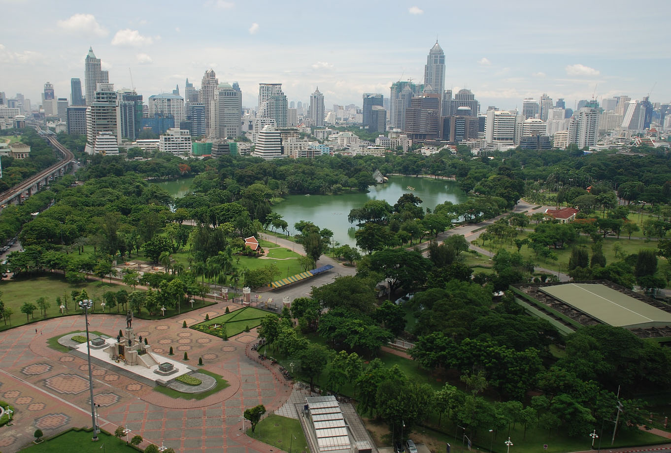 Lumpini Park - Bezienswaardigheden Bangkok