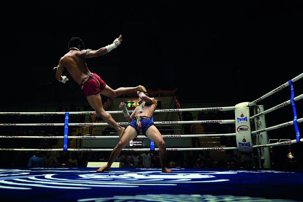 Lumpinee Boxing Stadium - Bezienswaardigheden Bangkok