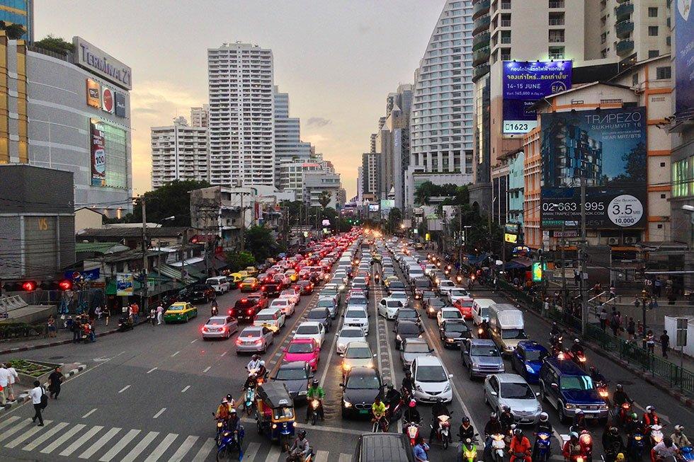 Sukhimvit Road - Bezienswaardigheden Bangkok