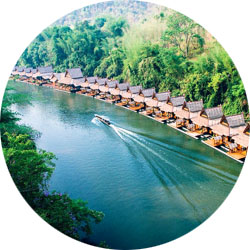 The Floathouse River Kwai in Kanchanaburi
