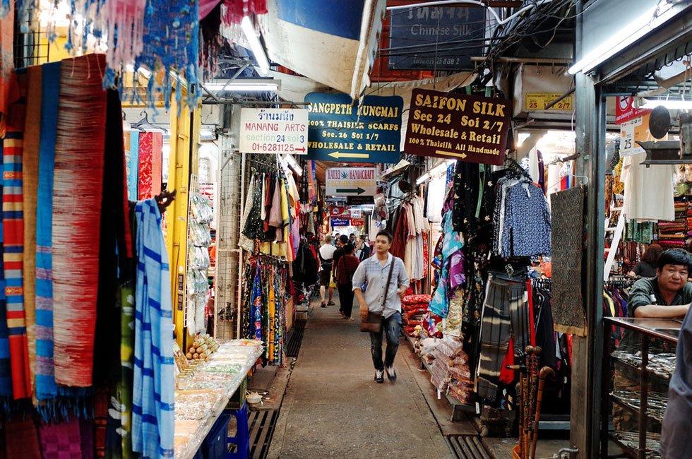 Chatuchak Weekend Market - Bezienswaardigheden Bangkok