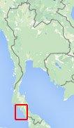 Kaart Koh Lipe Thailand