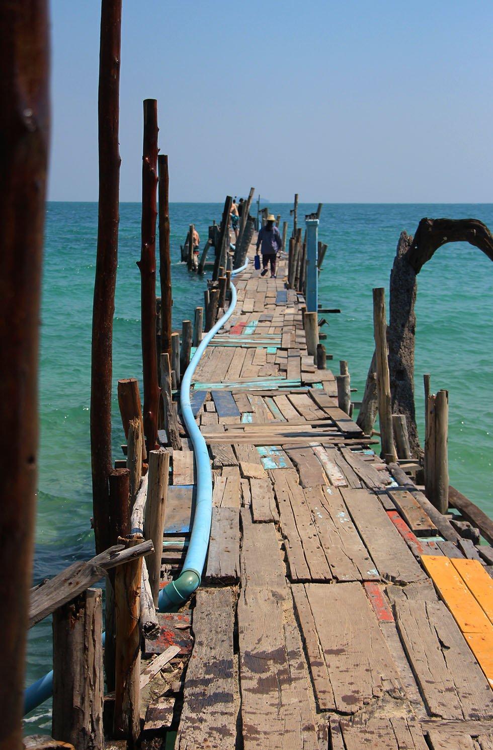 Ao Lung Dam Pier Koh Samet