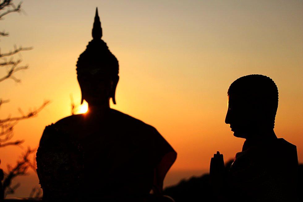 Boeddha Footprint Koh Si Chang Viewpoint