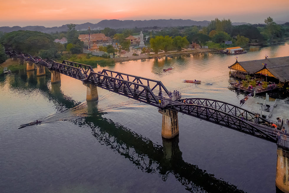 Bridge over the River Kwai - Drone