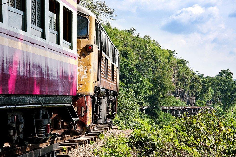 Dodenspoorlijn Kanchanaburi