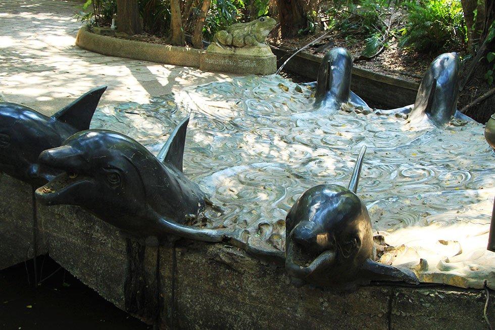 Dolfijnenbrug Wat Samphran