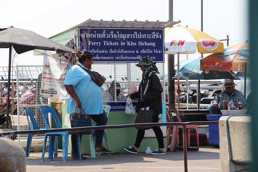 Ferry naar Koh Si Chang