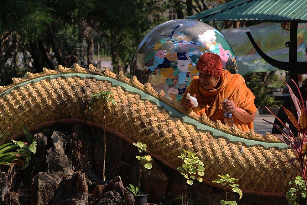 Monnik Wat Samphran