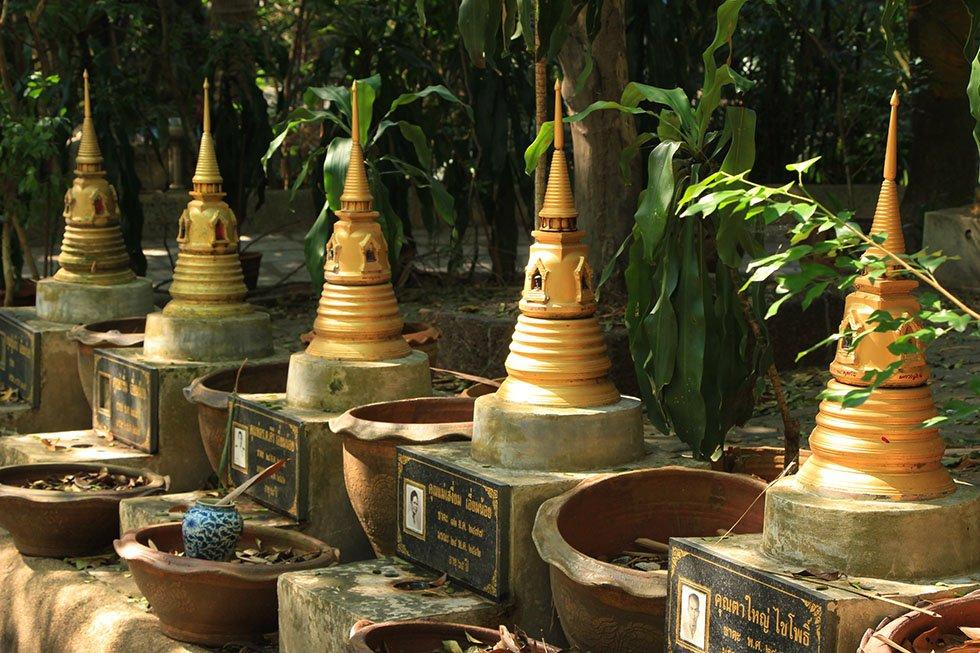 Pad om Wat Samphran