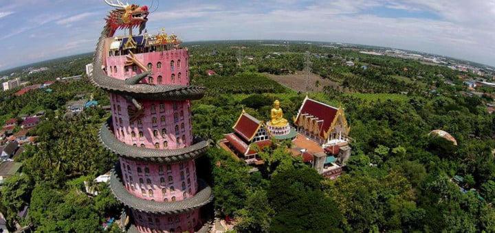 Wat Samphran in Bangkok