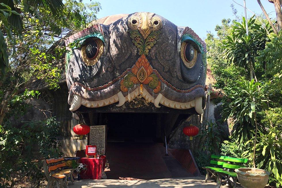 Wat Samphran Schildpad