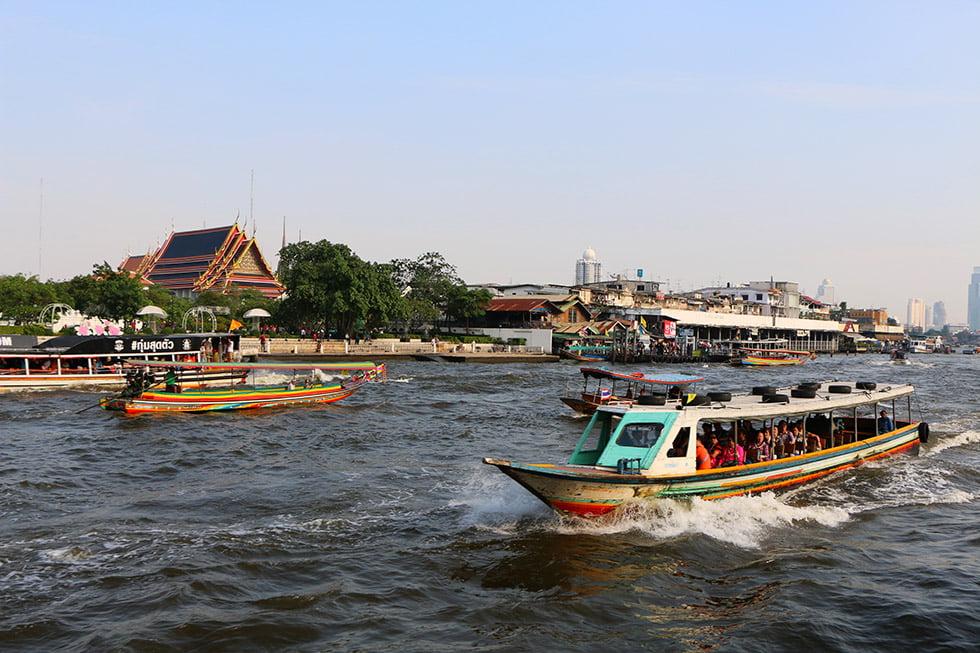 Chao Phraya Rivier Boot Bangkok