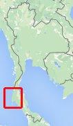 Kaart Surin Eilanden