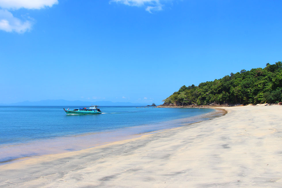 Slow boat Koh Chang Noi