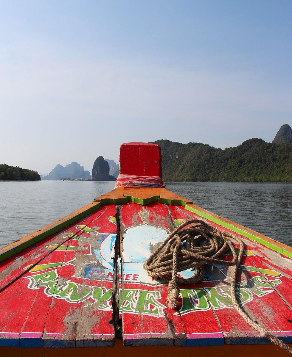 Longtailboot Phang Nga Bay