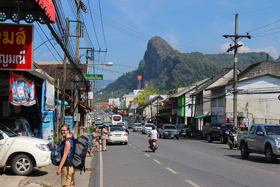 Mariska Phang Nga City Backpack