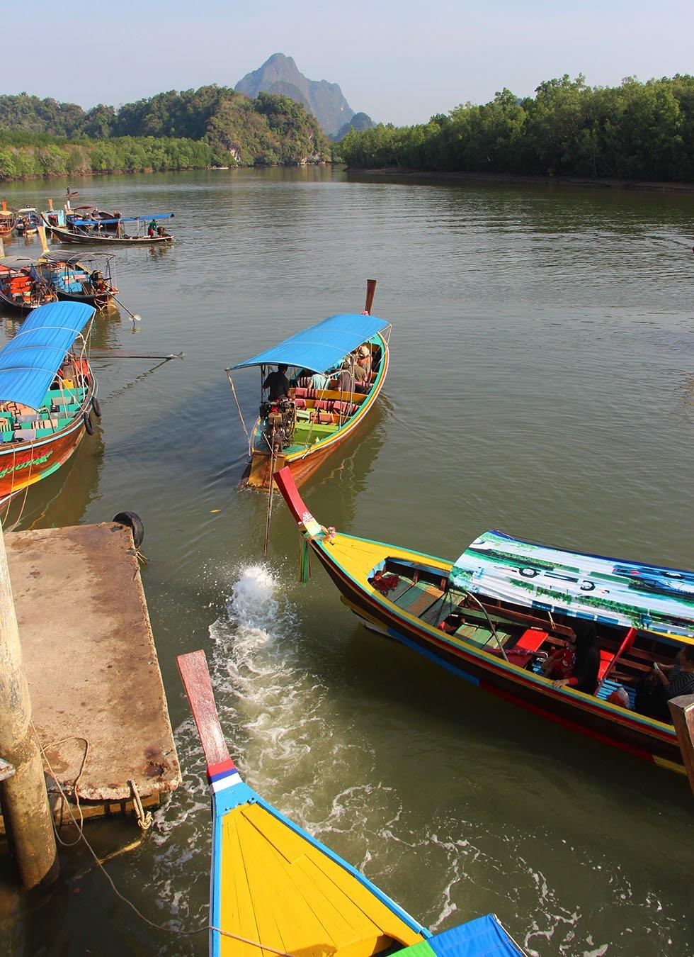 Phang Nga Bay Longtailboot