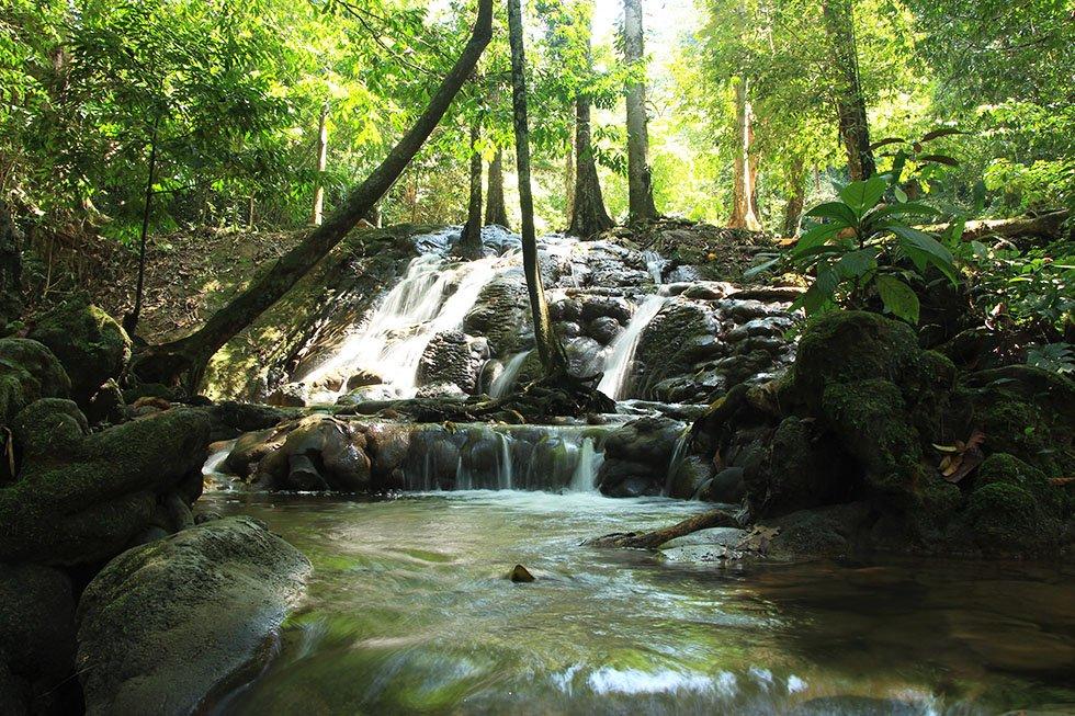 Sa Nang Manora Forest Park Waterval Phang Nga