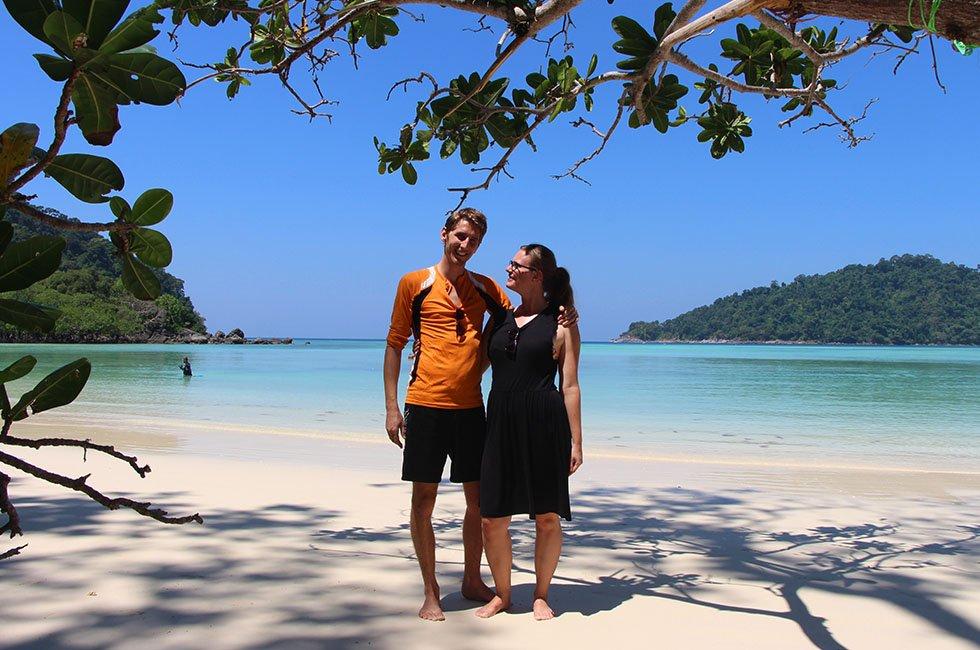 Sander en Mariska Koh Surin
